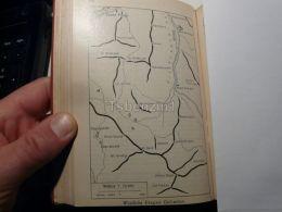 Dolomiti Di Braies Pragser Dolomiten Italy Austria Map Mappa Karte 1928 - Carte Geographique