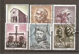 España/Spain-(usado) - Edifil  1394-99  - Yvert  1067-72 (o) - 1931-Hoy: 2ª República - ... Juan Carlos I
