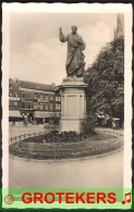 HAARLEM Standbeeld Laurens Coster Met Lunchroom Gruno 1937 - Haarlem
