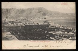 PALERMO 1902 - PANORAMA DAL MONTE PELLEGRINO - Palermo