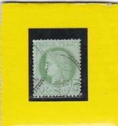 N° 53  K   C.A.D   TYPE 16 AVEC CERCLE EXT. PERLE   REF 10337 - 1871-1875 Cérès