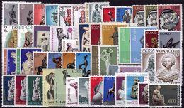 Europa - CEPT 1974 -  Année Complète - 23 Pays, 49 Valeurs, 1 Bloc  ** - Europa-CEPT