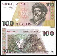 Kyrgyzstan 100 SOM ND 1994 P 12 UNC  KIRGHIZSTAN - Kirghizistan