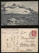 ALAGNA VALSESIA - VERCELLI - 1938 - ISTITUTO SCIENTIFICO MOSSO AL COLLE D'OLEN - Vercelli