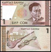 Kyrgyzstan 1 SOM 1999 P 15 UNC KIRGHIZSTAN - Kirghizistan