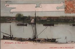 Cpa Briefkaart NIMEGEN - 1901 - De Waal En Lent (timbre Et Tampon Taxe) - Nijmegen