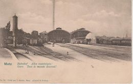 57 - METZ - LA GARE - TOUT LE MONDE DESCEND - Metz
