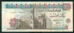 EGYPT / 100 POUNDS / DATE : 12-5-2010 / P- 67 F-i /  SIG : OKDA / PREFIX 125 / UNC. - Egipto