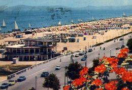 Rimini - Veduta Generale Della Spiaggia - 69 - Formato Grande Viaggiata – E 4 - Rimini