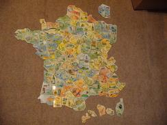 Magnet Le Gaulois Carte France Complète - Other