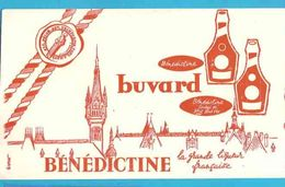 BUVARD / BLOTTER   :: BENEDICTINE  La Grande Liqueur Française - Liquor & Beer