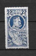 LOTE 1556   ///  POLONIA 1927  YVERT Nº: 369 *MH - 1919-1939 República