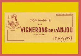 BUVARD / BLOTTER  :Vigneron De L'Anjou - Liquor & Beer