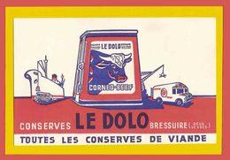 BUVARD / BLOTTER  :   LE DOLO Conserves - Food