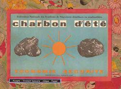 BUVARD  / BLOTTER  : Charbon D'Eté Economie Securité - Electricity & Gas