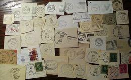 USA Maine Postmarks 50+ - Poststempel