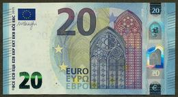 France - 20 Euro - U015 A1 - UA036110XXXX - Draghi - UNC - EURO
