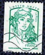 France 2016 Oblitéré Used Marianne Ciappa Et Kawena Pour Roulette LV 20 Gr - 2013-... Marianne De Ciappa-Kawena