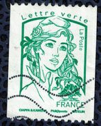 France 2016 Oblitéré Used Marianne Ciappa Et Kawena Pour Roulette LV 20 Gr - 2013-... Marianne (Ciappa-Kawena)
