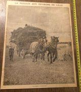 ANNEES 20/30 VERLINGHEM LA MOISSON AUX ENVIRONS DE LILLE - Sammlungen