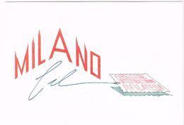 V1292 Milano - Milanofil 95 - Esposizione Internazionale Di Filatelia - Poste Italiane / Non Viaggiata - Borse E Saloni Del Collezionismo