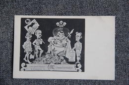 Couronnement D'EDOUARD VII , 1902. ( Dos Simple) - Satirical