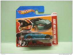 ASTON MARTIN DBS - 2012 Faster Than Ever - HOTWHEELS Hot Wheels Mattel 1/64 EU Blister - HotWheels