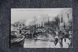 Campagne Du MAROC, CASABLANCA, Débarquement Des Troupes Espagnoles. - Guerres - Autres