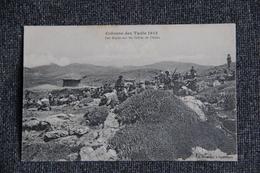 Campagne Du MAROC, 1913, Colonne Des Tadla, Les Alpins Sur Les Crêtes De L'Atlas. - Guerres - Autres