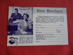 Draughon's Business College-ref 2795 - Publicité