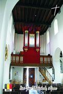Carte Postale, Eglises, Orgues, Churches Of Europe, Belgium, Afsnee, Sint-Jan-Baptistkerk - Churches & Cathedrals