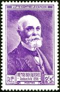 BECQUEREL, B. - France 1946 Michel # 745 - ** MNH - Physics - Physicist, Nobel Prize Winner - Radioactivity - Ciencias