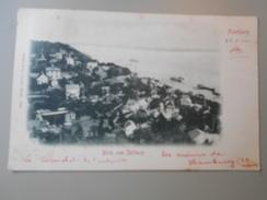 ALLEMAGNE HAMBOURG HAMBURG BLICK VOM SÜLLBERG  VOYAGEE LE 28/05/1900 - Blankenese