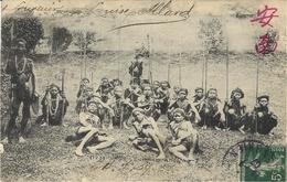 ( 173 ) -Guerriers KHAS  -ed. Victor FIEVET - Laos