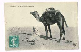 Arabe Faisant Sa Prière.Expédié De Soukara à Ixelles (Belgique) - Algeria