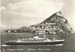 T/N C. COLOMBO GIBILTERRA PUNTA EUROPA (349) - Gibilterra