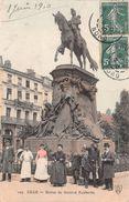 ¤¤   -  LILLE   -   Statue Du Général Faidherbe  -  ¤¤ - Lille