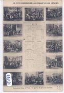 PARIS- LES PETITS COMMERCES DE PARIS PENDANT LE SIEGE 1870-71- UN APERCU DU PRIX DES DENREES - Artesanos De Páris