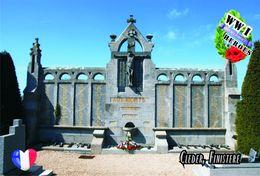Carte Postale, Militaria, Monuments, World War I Monuments, France (Finistère), Cléder - Monuments Aux Morts