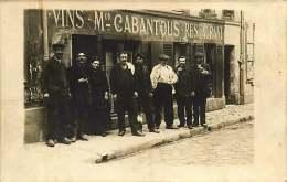 CARTE PHOTO 110118  - ? 12 AVEYRON ? - Commerce Vins Restaurant - Restaurants
