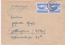 Feldpost WW2: Double Airmail From Tscherkassy In Central Ukraine - Grenadier-Regiment 266 (4./I) FP 19151E P/m 6.12.1943 - Militaria