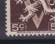 N° 647 A XX  Trait Clair Devant La Patte - Errors And Oddities