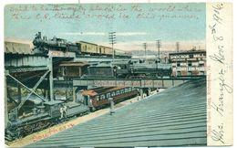 USA 1906.Postcard Railway. - Richmond
