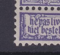 N° 71 X  Tiret Sur I De Niet - Errors And Oddities