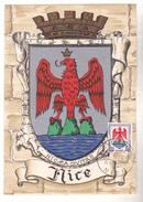 CARTE MAXIMUM HERALDIQUE NICE  15/11/1958 - Maximum Cards