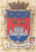 CARTE MAXIMUM HERALDIQUE DE BORDEAUX 15/11/1958 - Maximum Cards