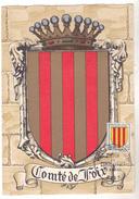 CARTE MAXIMUM HERALDIQUE COMTE DE FOIX   19/11/1955 - Maximum Cards