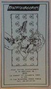 No PAYPAL !! : Gess Pin Up Carmen Mc Callum ,Carton Fantasmagories Invitation Séance Dedicace BD Delcourt De 1993 - Livres, BD, Revues
