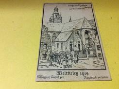 ROESELARE ROULERS. Weltkrieg. 1914 - Roeselare