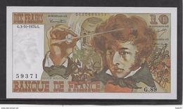 France 10 Francs Berlioz - 3-10-1974 - Fayette N°63-7 - SPL - 1962-1997 ''Francs''